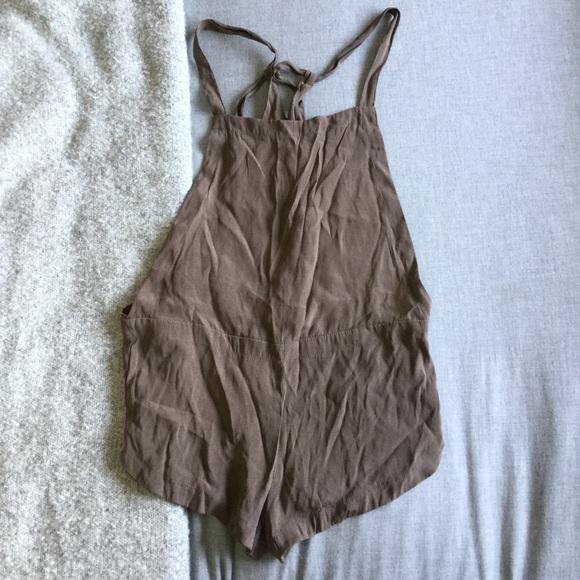 fc8287e3a7a3 acacia swimwear Other - Acacia silk snapper overalls small